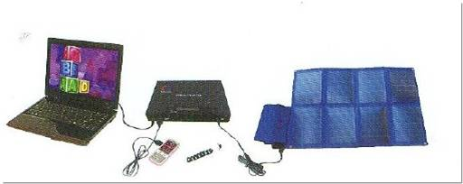 portable solar power source lighting apparatus