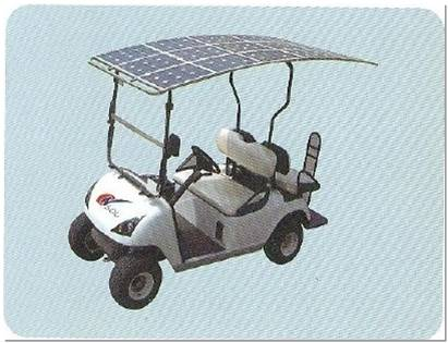 solar power vehicle car sight seeing car golf cart