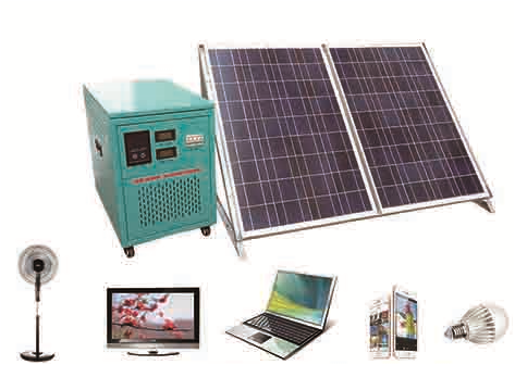 Portable Solar AC Power System