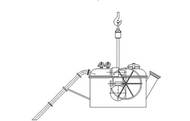 Vacuum Ladle for Aluminium Discharging