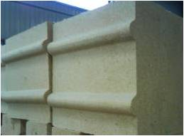Special fireclay brick