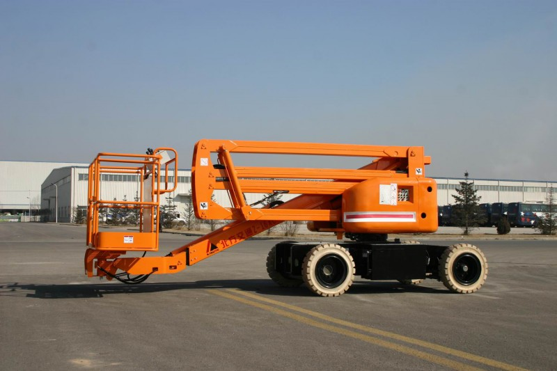 16M Articulated Boom Self-propelled Aerial Working Platform