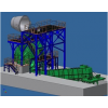 The technology of BSSF steel slag processing